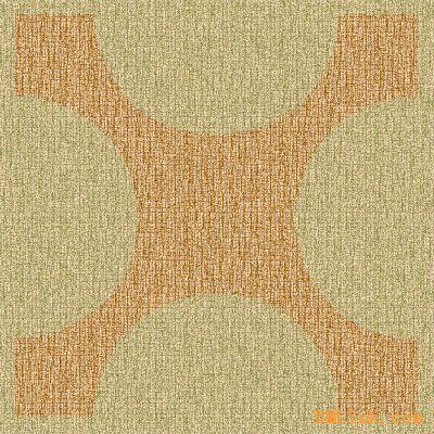十字地毯图案融会西方特色与东方古典